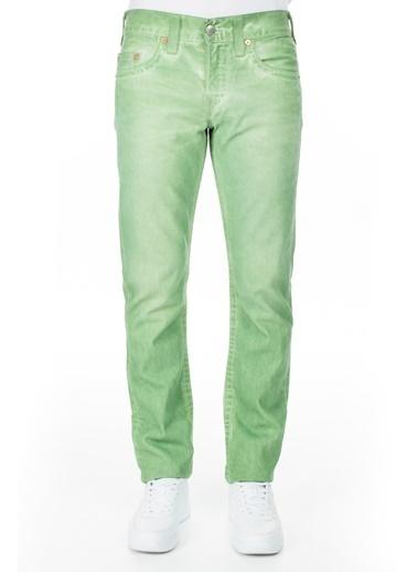 True Religion  Jeans Erkek Kot Pantolon M58J19Y13 Yeşil